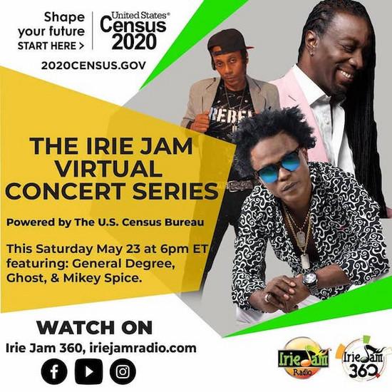 Irie Jam Virtual Concert Series #2 2020