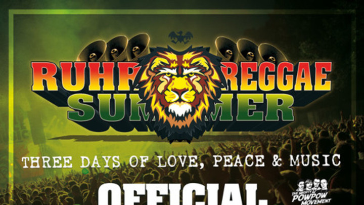 Ruhr Reggae Summer - Official Promo Mix 2015 (by Pow Pow) [7/21/2015]