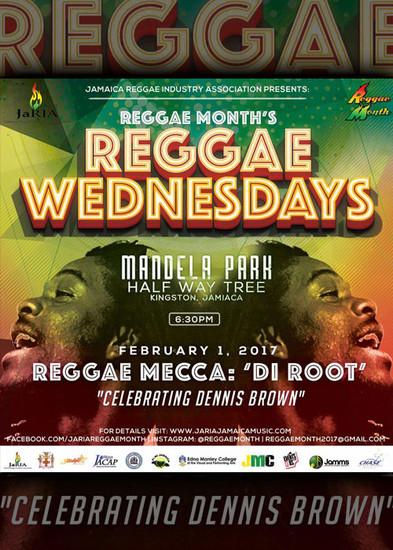 Reggae Wednesday 2017 - Reggae Mecca: The Root