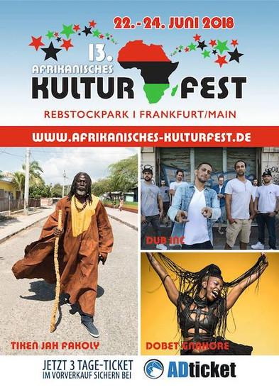 Afrikanisches Kulturfest 2018