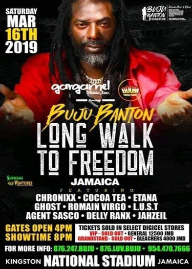 Buju Banton - Long Walk To Freedom 2019