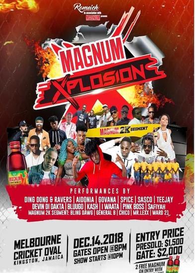 Magnum Explosion 2018