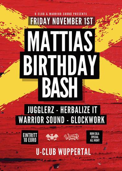 Mattia's Birthday Bash 2019