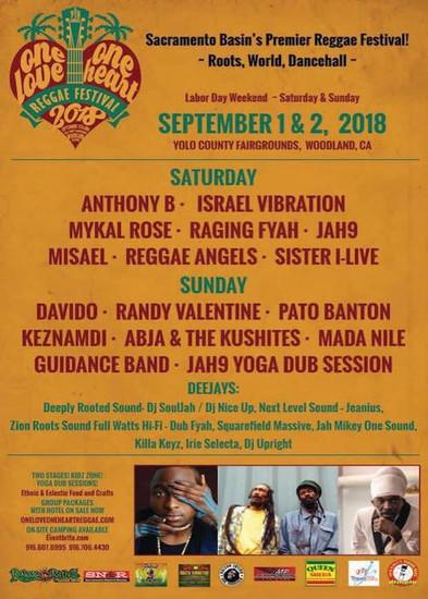 One Love One Heart Reggae Festival 2018