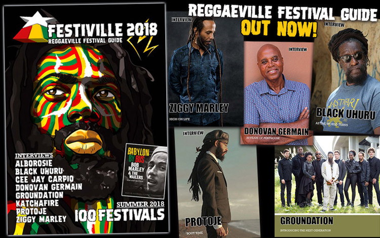 Festiville 2018 - Reggaeville Festival Guide Out Now