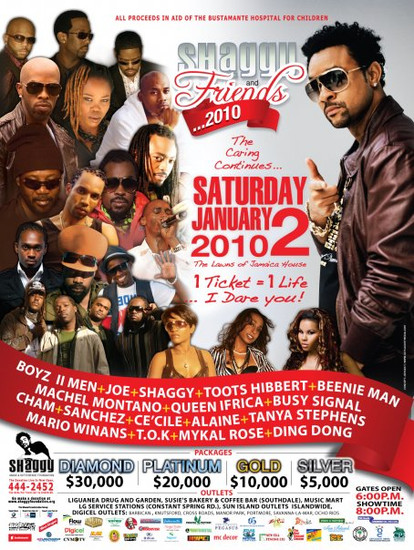 Shaggy & Friends 2010