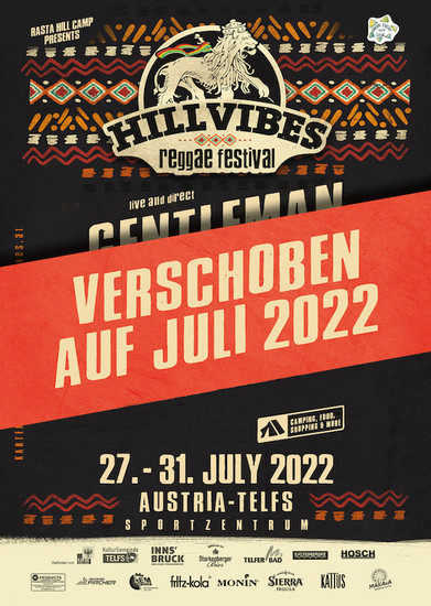 CANCELLED: Hill Vibes Reggae Festival 2021