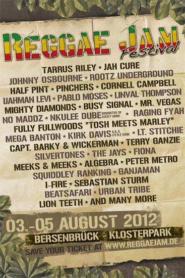 Reggae Jam 2012