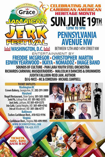 Jamaican Jerk Festival - Washington 2016