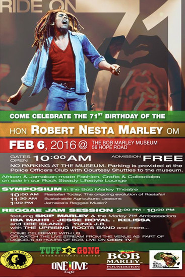 Bob Marley's 71st Birthday Celebration