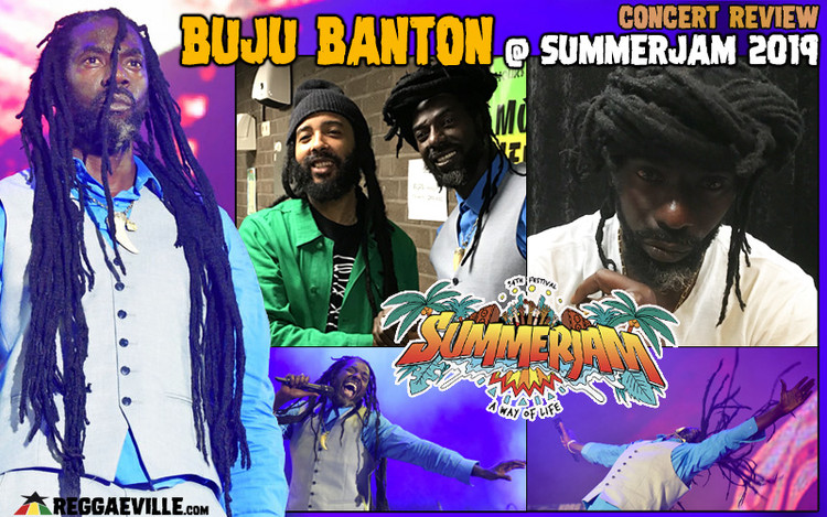 Concert Review: Buju Banton in Cologne, Germany @ SummerJam 2019