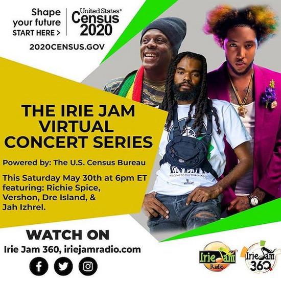 Irie Jam Virtual Concert Series #4 2020