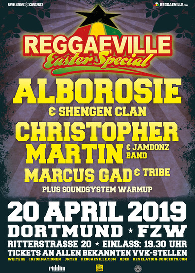 Reggaeville Easter Special - Dortmund 2019