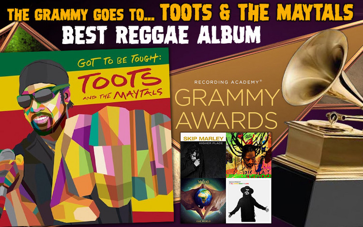 Best Reggae Album! The GRAMMY goes to... TOOTS & THE MAYTALS
