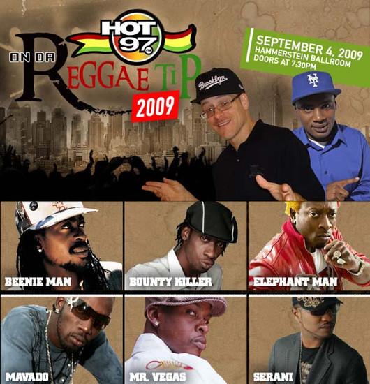 On Da Reggae Tip 2009
