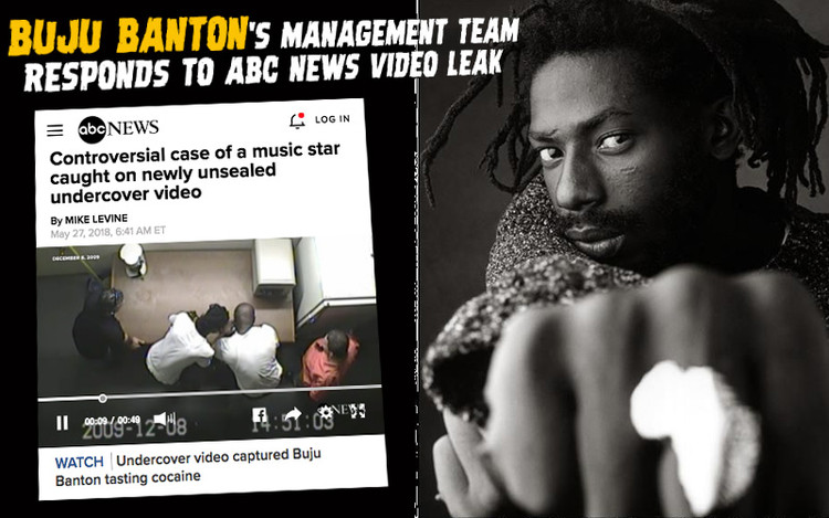 Buju Banton's Management Team Responds to ABC News Video Leak