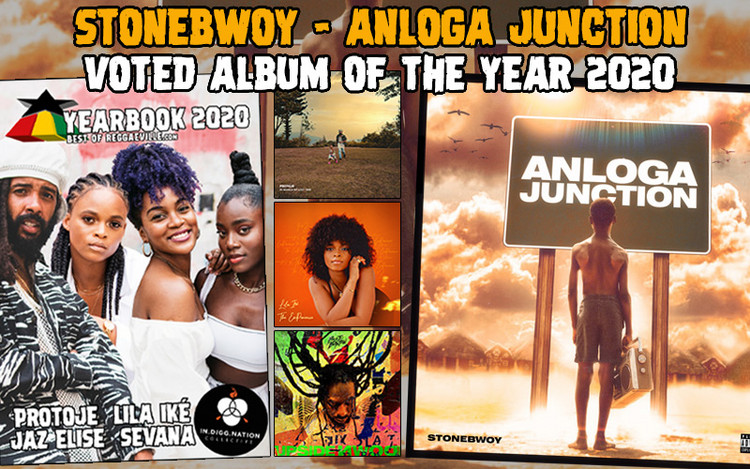 Anloga Junction by Stonebwoy Voted Album of the Year 2020