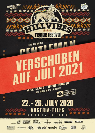 CANCELLED: Hill Vibes Reggae Festival 2020