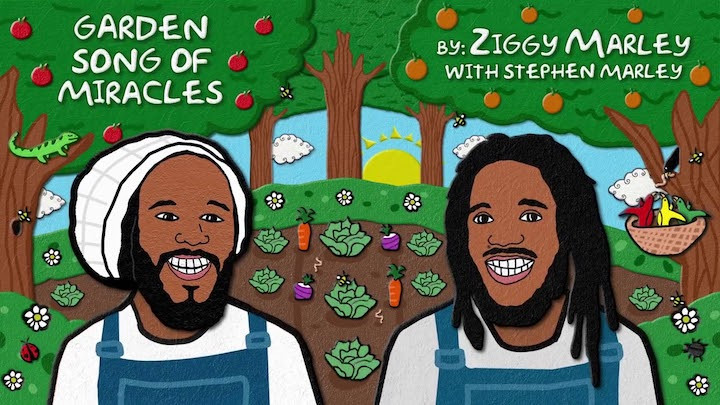 Ziggy Marley feat. Stephen Marley - Garden Song of Miracles [9/18/2020]