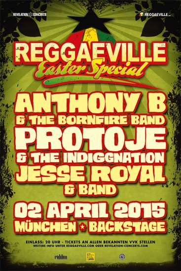 Reggaeville Easter Special - Munich 2015