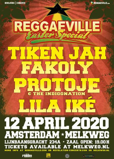 Cancelled: Reggaeville Easter Special - Amsterdam 2020
