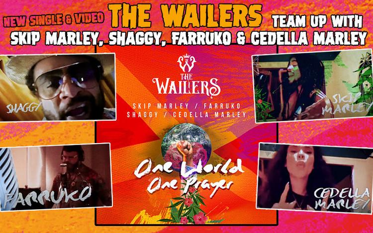 One World, One Prayer - The Wailers Team Up With Skip Marley, Shaggy, Farruko & Cedella Marley
