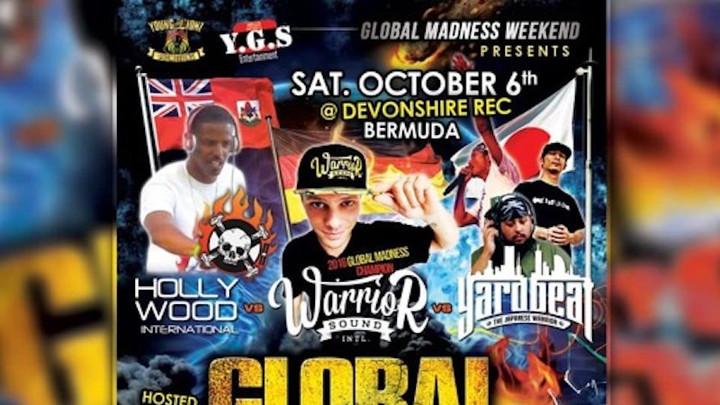 Warrior Sound vs Yardbeat vs Hollywood @ Global Madness Bermuda 2018 (Full Audio) [10/6/2018]
