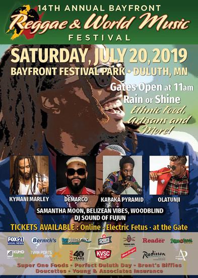 Bayfront Reggae & World Music Festival 2019