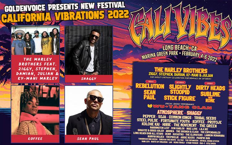 Goldenvoice Presents New Festival - California Vibrations 2022