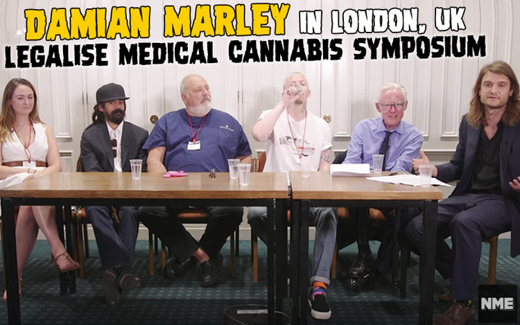Damian Marley @ Legalise Medical Cannabis Symposium in London, UK 2018