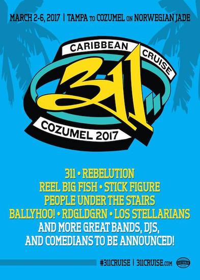311 Caribbean Cruise Cozumel 2017