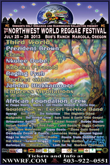 NW World Reggae Festival 2013