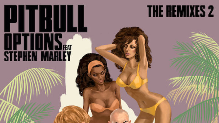 Pitbull feat. Stephen Marley - Options (Damaged Goods Remix) [4/7/2017]