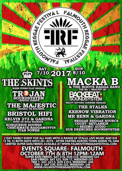 Falmouth Reggae Festival 2017