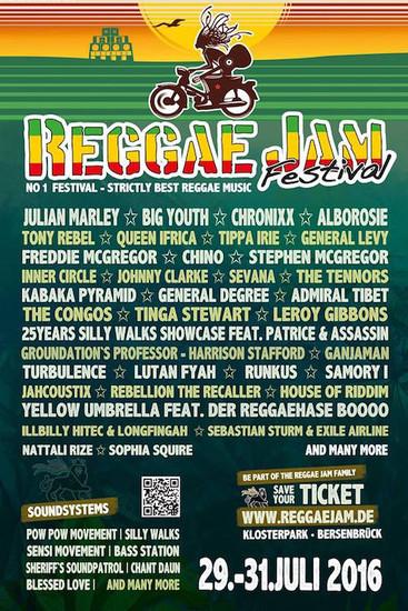 Reggae Jam 2016