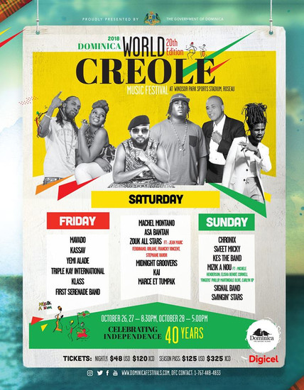 World Creole Music Festival 2018