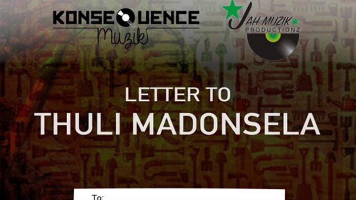 Black Dillinger feat. RubyGold - Letter To Thuli Madonsela [8/14/2016]
