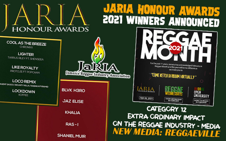 JaRIA Honour Awards 2021 - Winners Announced