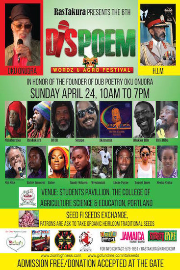 Dis Poem Wordz & Agro Festival 2016