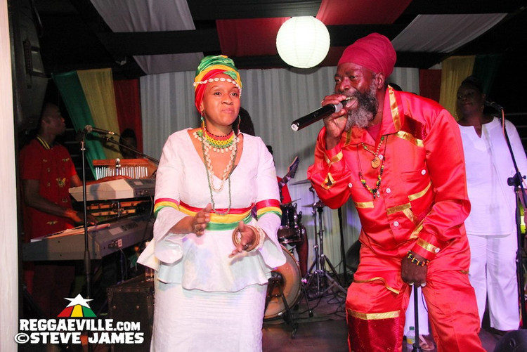 Miriam Simone, Capleton, Fred Locks, Mikey General