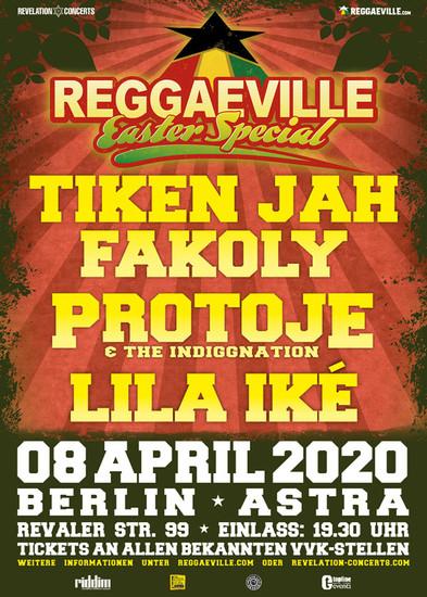 Cancelled: Reggaeville Easter Special - Berlin 2020