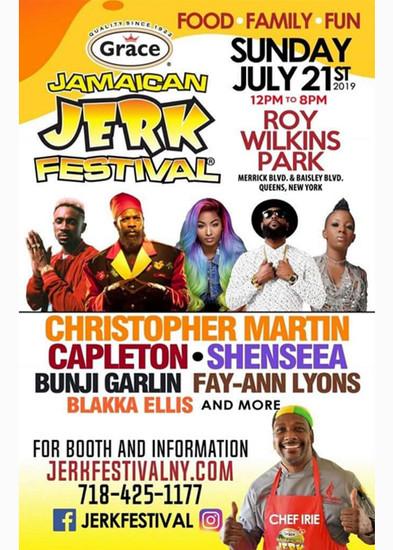 Jamaican Jerk Festival - New York 2019
