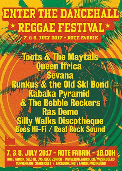 Enter The Dancehall Reggae Festival 2017