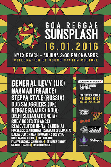 Goa Reggae Sunsplash 2016