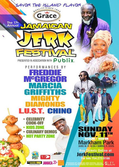 Jamaican Jerk Festival - Florida 2018
