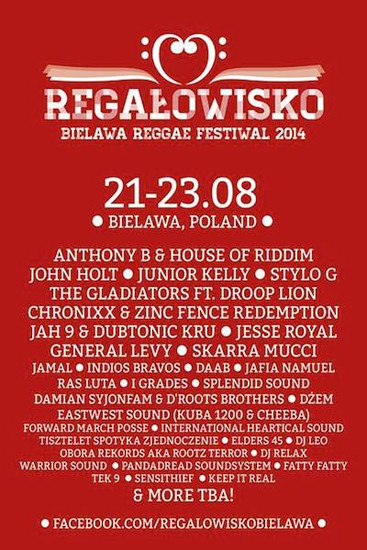 Regalowisko Bielawa Reggae Festival 2014