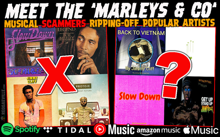 Meet the 'Marleys & Co' - Musical Scammers Ripping-Off Popular Artists