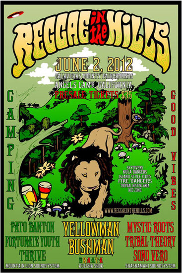 Reggae In The Hills 2012