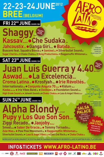 Afro Latino Festival 2012