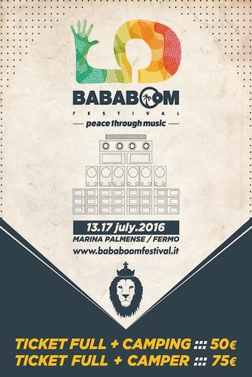 Bababoom Festival 2016